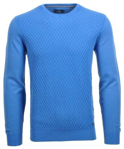 Pullover rundhals mit Struktur
