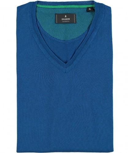 RAGMAN knitted Vest with V-neck