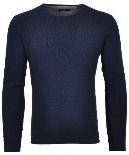 Sweater round neck structure