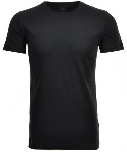2 T-Shirt Doppelpack Bodyfit mit Rundhals