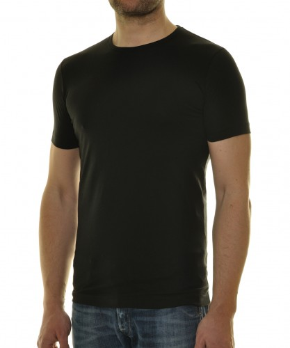T-Shirt Body Fit mit Rundhals