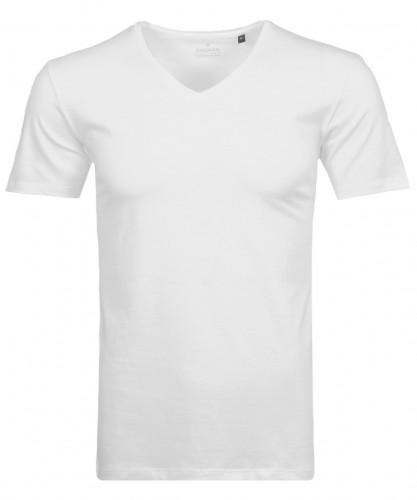 T-Shirt Bodyfit mit V-Ausschnitt
