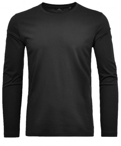 RAGMAN Shirt round neck, longsleeve