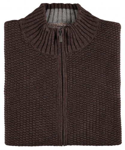 Strickjacke Braun-080