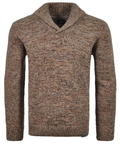 Schalkragen-Pullover