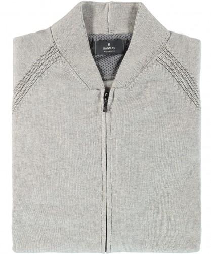RAGMAN knitted Cardigan with zip