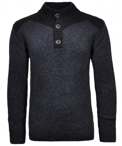 Troyer sweater fancy with button