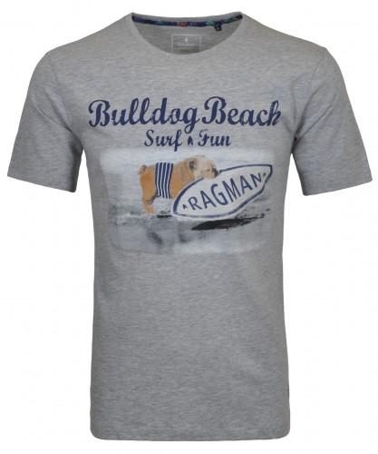 "RAGMAN T-shirt ""Bulldog beach"""