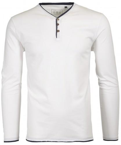 RAGMAN Henley-Shirt Langarm