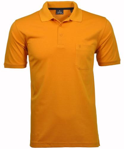 RAGMAN Kurzarm Softknit Poloshirt