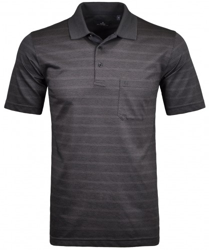 Softknit Streifen-Poloshirt triangle