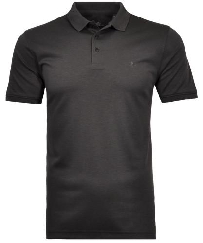 Poloshirt ohne Brusttasche Anthrazit-019