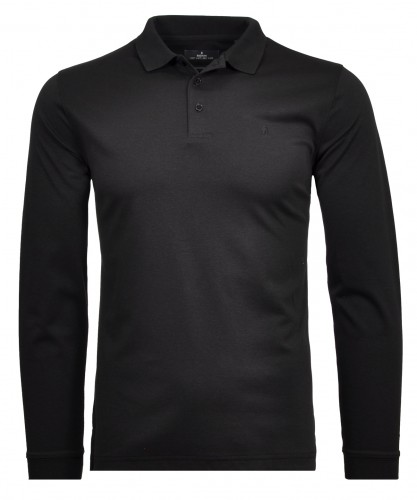 Polo soft knit LS without chest pocket
