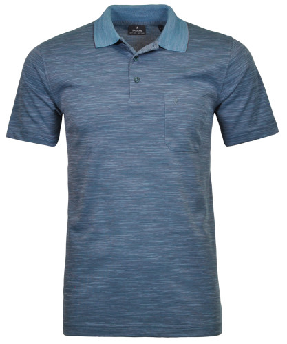 Softknit-Polo with flame optic