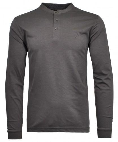Henley-Shirt, Langarm Schiefer-027