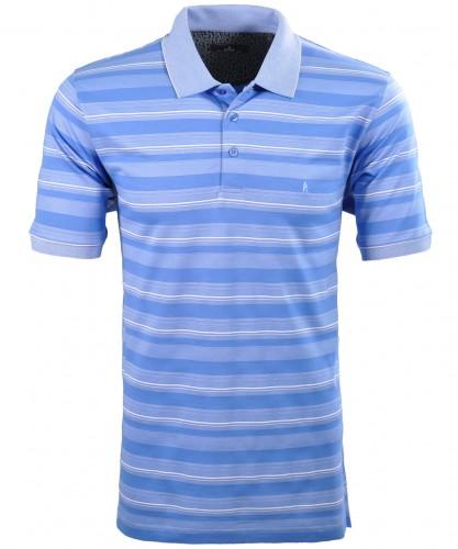 Softknit Streifen-Poloshirt
