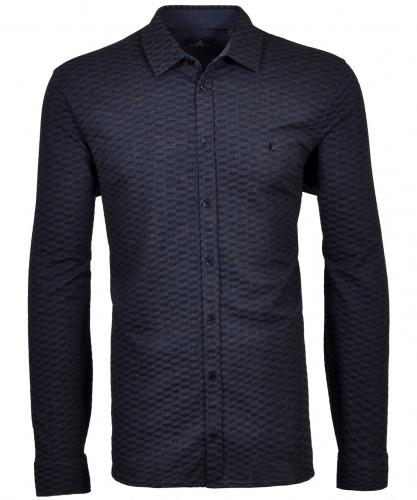 RAGMAN Softknit-Shirt with minimal pattern