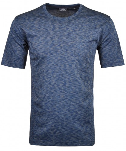 Softknit T-Shirt Rundhals space dyed