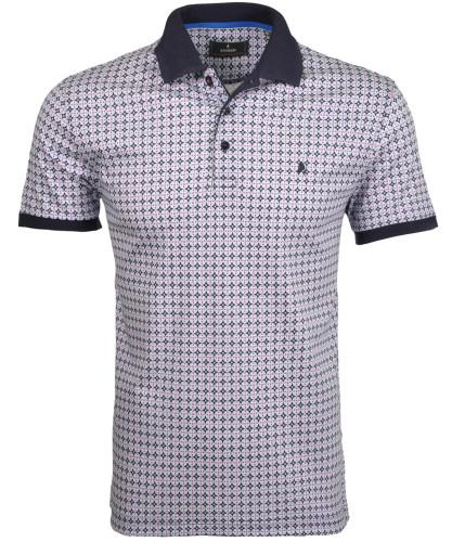 RAGMAN Poloshirt with minimal print
