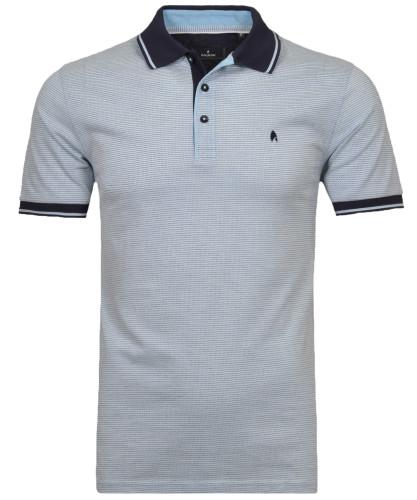 Poloshirt farbig gestreift
