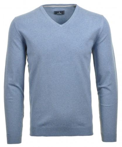 V-Neck Pullover Superflex-Cotton