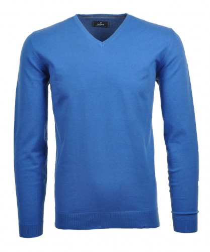 V-Neck Pullover Superflex-Cotton