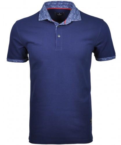 RAGMAN Poloshirt with printed collar