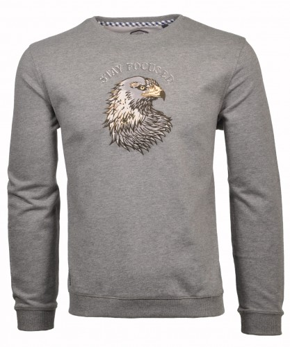 "RAGMAN Sweater ""eagle"" round neck"
