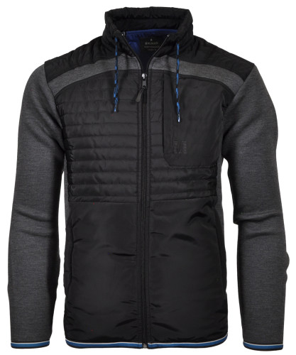 RAGMAN Jacket with stand up collar and zip