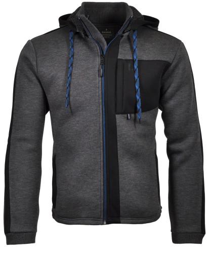 RAGMAN Sweat-Jacket with hoody