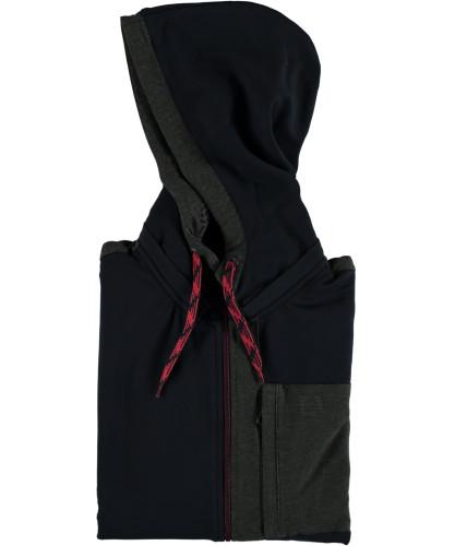 RAGMAN Softshell-Jacket with hoody