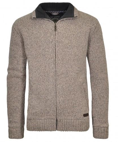 RAGMAN Cardigan with fleece lining
