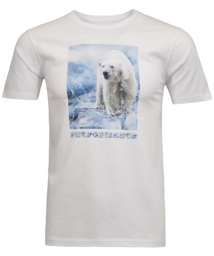 T-shirt chest print animals