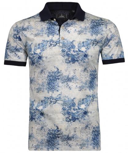 Poloshirt allover print