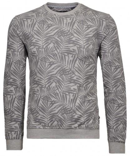 Rundhals-Sweater Alloverprint