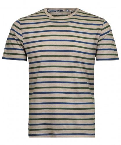 T-Shirt striped melange