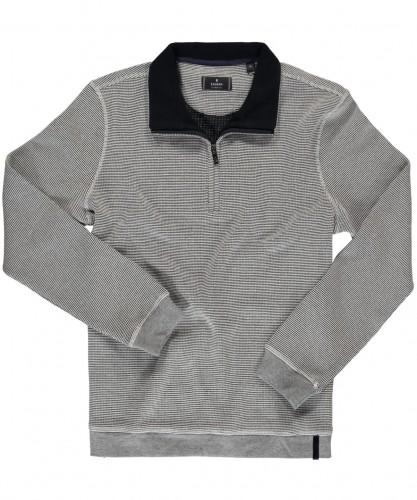 RAGMAN Sweatshirt mit Stehkragen