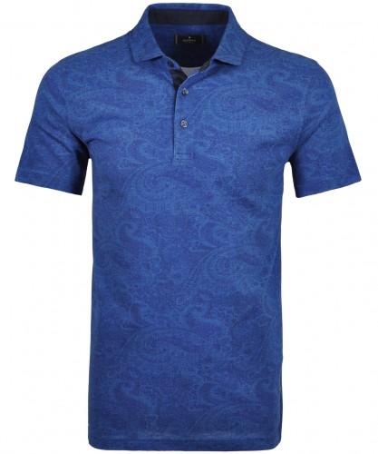 Alloverprint-Poloshirt mit Knöpfen