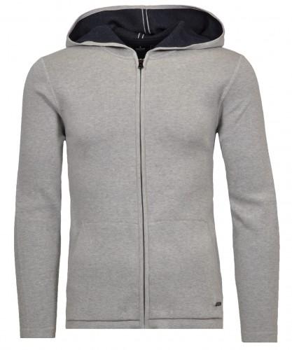 Cardigan hoody zipper