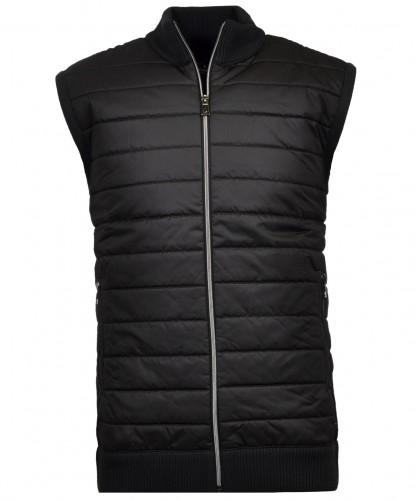 Vest with nylon front