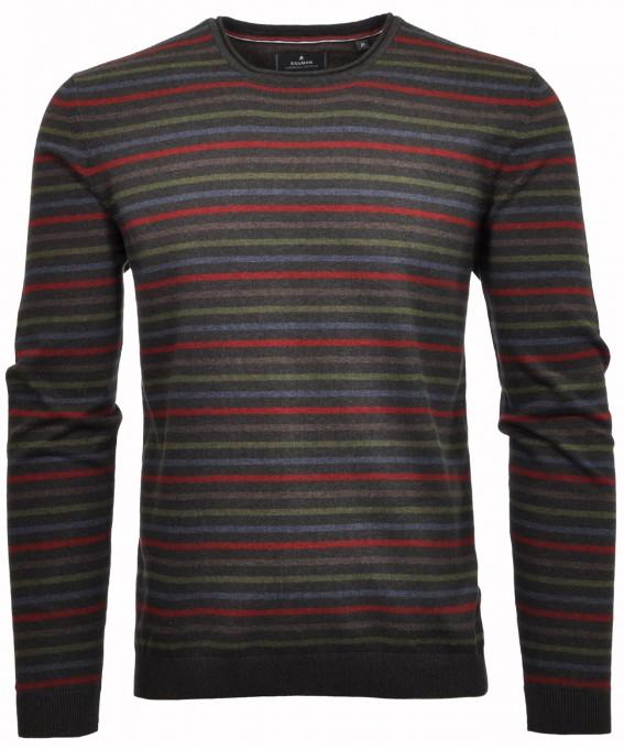 RAGMAN Streifen-Pullover