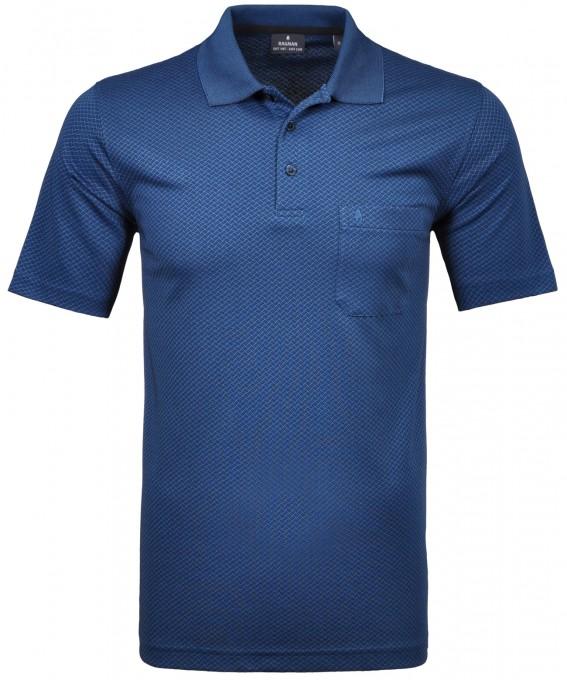 Softknit Jacquard Poloshirt