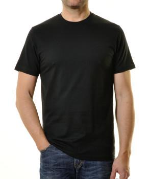 RAGMAN Doppelpack - 2 T-Shirts mit Rundhals